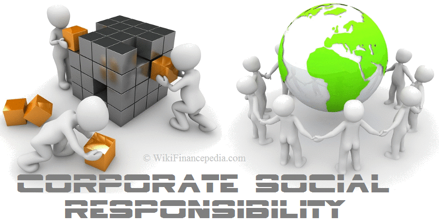 Wiki Finance pedia - e-learning course on Startup and Business Wikipedia Chapter - What is Corporate Social Responsibility? Definition, Examples, Advantages, Benefits, Types and its Importance of CSR.