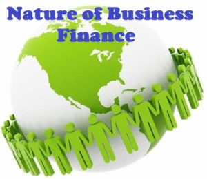 Nature of Business Finance in Points - Wikiepdia of Finance Notes