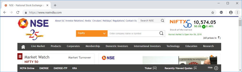 Nseindia - Wikipedia of Finance - Best Finance Websites for Free